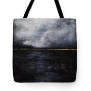 A Break In The Skyline Tote Bag by Frances Marino