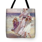 A Breezy Day At The Seaside Tote Bag