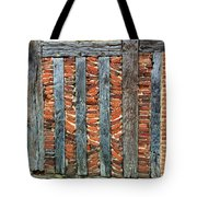 A Brick Wall Design Tote Bag