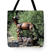 A Buck And His Doe Tote Bag