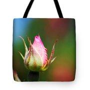 A Budding Rose Tote Bag