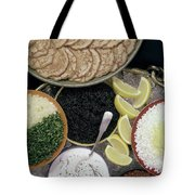 A Buffet With Blinis Tote Bag