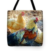A Bunch Of Chickens Tote Bag