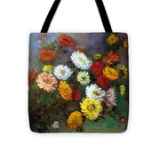 A Bunch Of Flowers Tote Bag