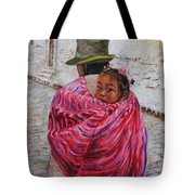 A Bundle Buggy Swaddle - Peru Impression IIi Tote Bag by Xueling Zou