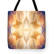 A Burst Of Light Abstract Living Artwork By Omaste Witkowski Tote Bag