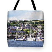A Busy Harbour And Waterfrontkinsale Tote Bag