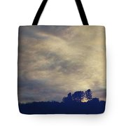 A Calm Sets In Tote Bag