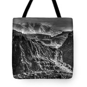 A Canyon Storm Tote Bag