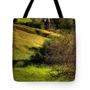A Castle In The Landscape Tote Bag