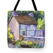 A Castleton Cottage In Uk Tote Bag