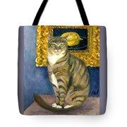 A Cat And Eduard Manet's The Lemon Tote Bag