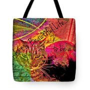 A Cat's Life Tote Bag
