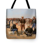 A Cavalryman's Breakfast Tote Bag