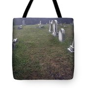 A Cemetery In New Salem Tote Bag