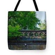 A Central Park Bridge Tote Bag