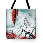 A Chair For My Heart Please - Thank You. Tote Bag