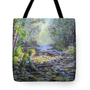A Chance Encounter With Mossman Tote Bag
