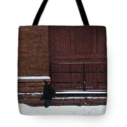 A Chance Meeting Tote Bag
