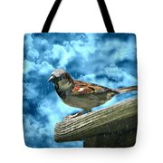 A Chance Of Showers Tote Bag