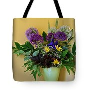 A Chanticleer Spring Bouquet Tote Bag