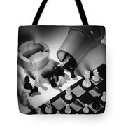 A Chess Set Tote Bag