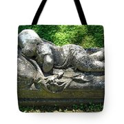 A Child Sleeps Tote Bag