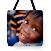 A Child's Smile Is One Of Life's Greatest Blessings Tote Bag