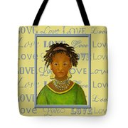 A Child's Whispers Of Love Tote Bag by The Art With A Heart By Charlotte Phillips