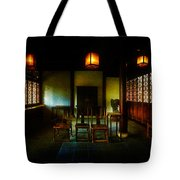 A Chinese Scholar's House Tote Bag