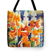 A Choir Of Poppies Tote Bag