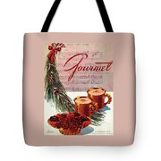 A Christmas Gourmet Cover Tote Bag
