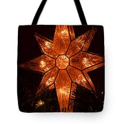 A Christmas Star Tote Bag