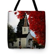 A Church In Historic Jacksonville Tote Bag