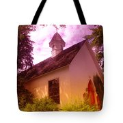 A Church In Prosser Wa Tote Bag