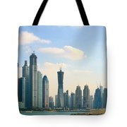 A City In Progress Tote Bag
