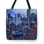 A City That Never Sleeps Tote Bag