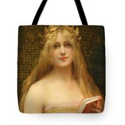 A Classical Beauty Tote Bag