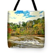 A Cleveland Autumn Tote Bag