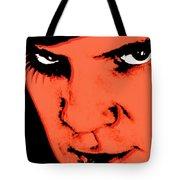 A Clockwork Orange Malcolm Mcdowell Tote Bag by Tony Rubino