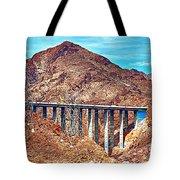 A Closer Look At Pat Tillman Bridge Tote Bag