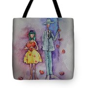 A Clumsy Love Tote Bag