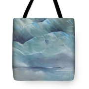 A Cold Day Tote Bag