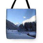 A Cold Winter Day Tote Bag