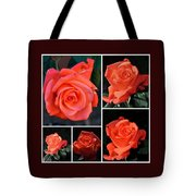 A Collage Of Pink Tote Bag
