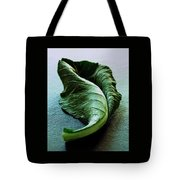 A Collard Leaf Tote Bag by Romulo Yanes