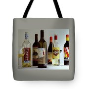A Collection Of Wine Bottles Tote Bag