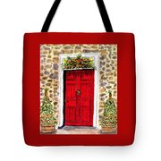 A Colonial Christmas At The Dobbin House Gettysburg Tote Bag