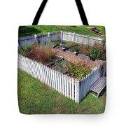 A Colonial Garden Tote Bag