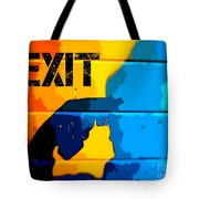 A Colorful Exit  Tote Bag